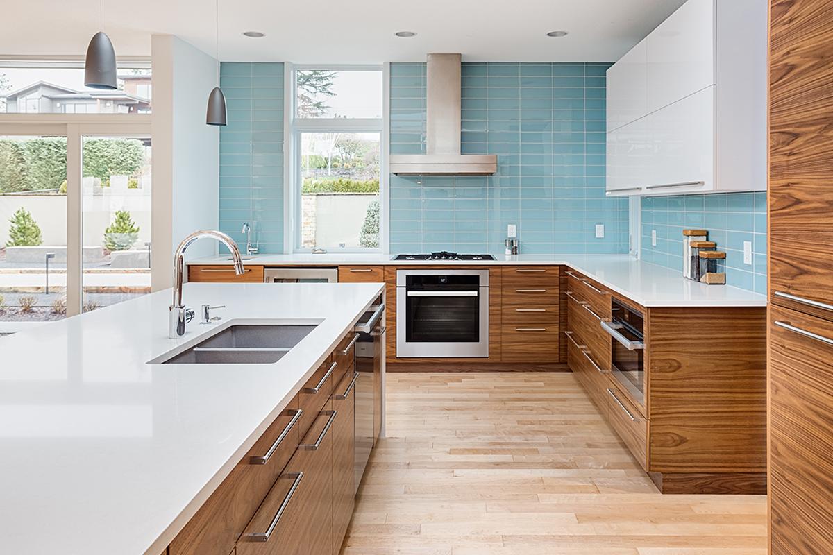 modern cabinets setup kitchen